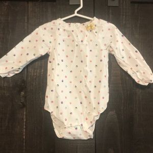 Baby one piece/blouse